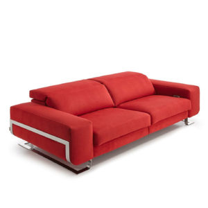 sofa rojo yeclamueble